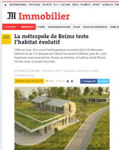 Rollet Le Monde 2 maisons connectées Bezannes Konekti