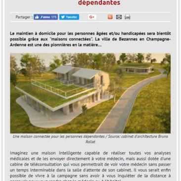Rollet Le Moniteur Bezannes Konekti 2 maisons connectées