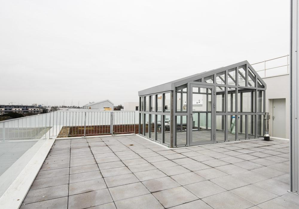 Serre partagé sur le toit ©Luc Boegly