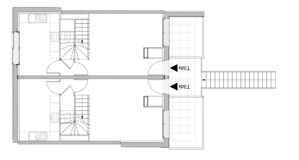 T3 duplex niveaux bas